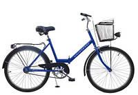 Складной велосипед Uniwersal 24 Blue Польша, фото 1