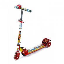 Самокат дитячий триколісний для маленьких дітей арт. BT-KS-0027 (кольори в асортименті)