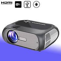 HD портативный мини проектор с HDMI USB WiFi Android UNIC T7 full HD проектор для домашнего кинотеатра