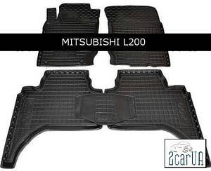Коврики в салон Avto-Gumm для Mitsubishi L200 long 2013-