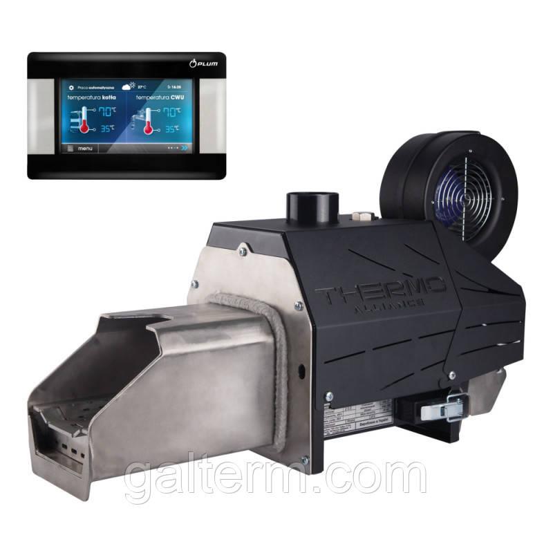 Пелетний пальник Thermo Alliance EVO 25кВт зі шнеком + контроллер Ecomax 860 PLUM
