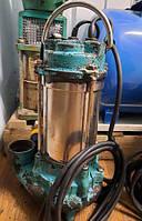 Насос канализационний 1.1 кВт Hmax 15.5 м Qmax 300л/хв з ножем (нерж) AQUATICA (773433) б/у