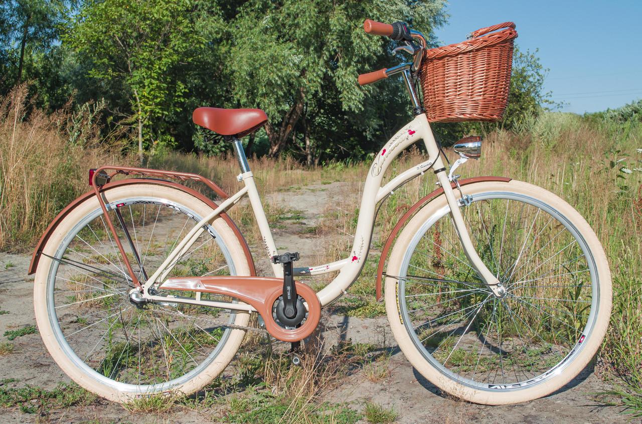 Велосипед VANESSA Vintage 28 Nexus 3 Cream Польща