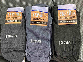 Спортивные носки Мужские под кроссовки Мужские Хлопок (Украина), фото 1
