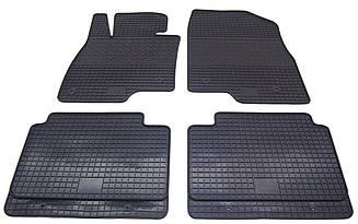 Коврики резиновые в салон для Mazda 3 2013- (PolyteP_Clasic)