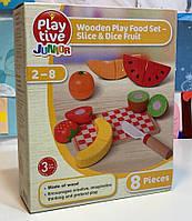 Дерев'яний іграшковий фруктовий набір PlayTive 8 ел Німеччина