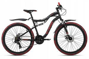 Гірський велосипед KS Cycling MTB 26 Crusher Black-Read Німеччина