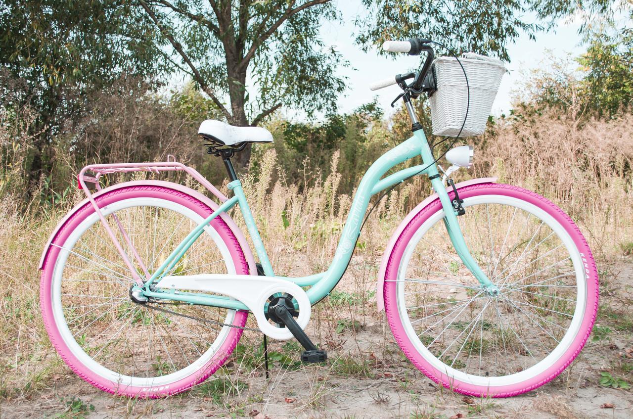 Міський велосипед LAVIDA 28 Nexus 3 Pink-Turquoise Польща