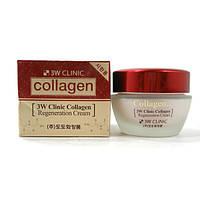 Регенерирующий крем с морским коллагеном 3W Clinic Collagen Regeneration Cream