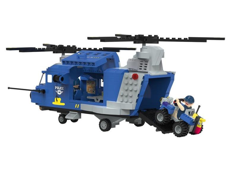 Конструктор Вертолет с квадроциклом PlayTive Police 390 эл Германия