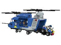 Конструктор Вертолет с квадроциклом PlayTive Police 390 эл Германия, фото 1