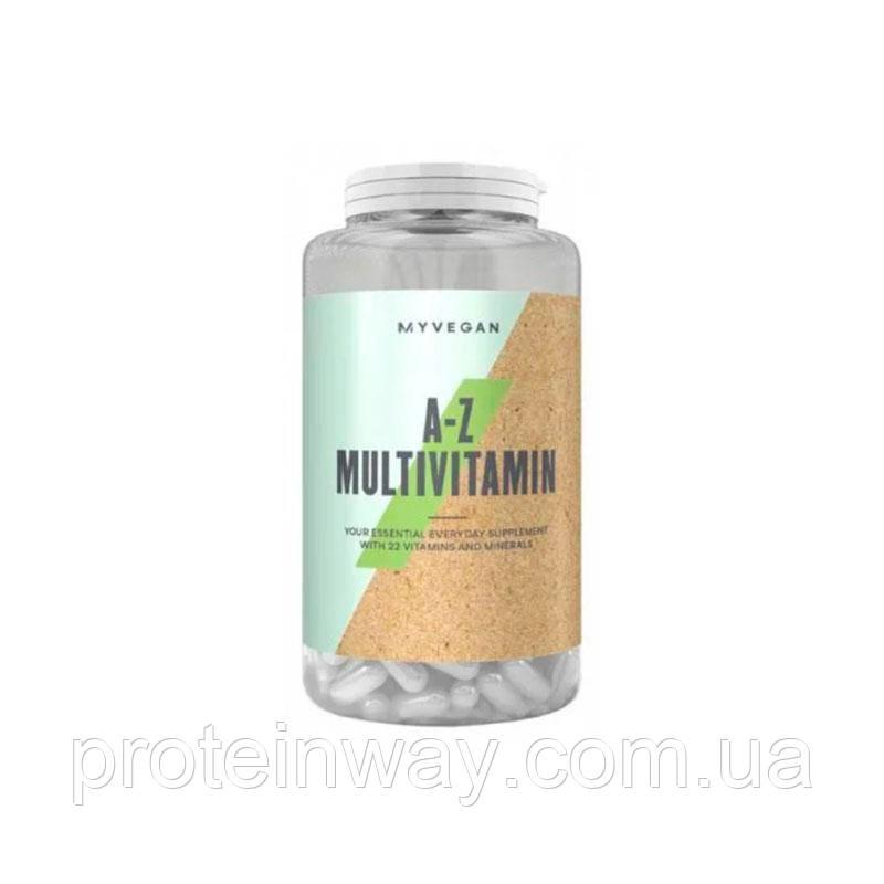 Вітаміни Веган Myprotein Vegan A-Z Multivitamin 60 капс