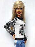 Одяг для ляльок Барбі - кофта, фото 4