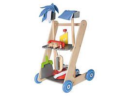 Дерев'яна яний візок для чищення PLAYTIVE® JUNIOR 7 елементів Німеччина