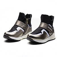 Демисезонные ботинки MLV для девочек (р.27,30)