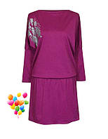 Нарядное платье для полных женщин разных цветов, фото 1