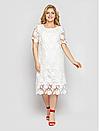 Платье большого размера Элен кружево (2 цвета), фото 5