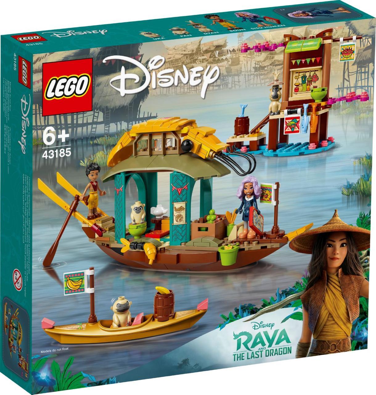 Лего дисней Лодка Буна Lego Disney Princesses Лего дисней43185
