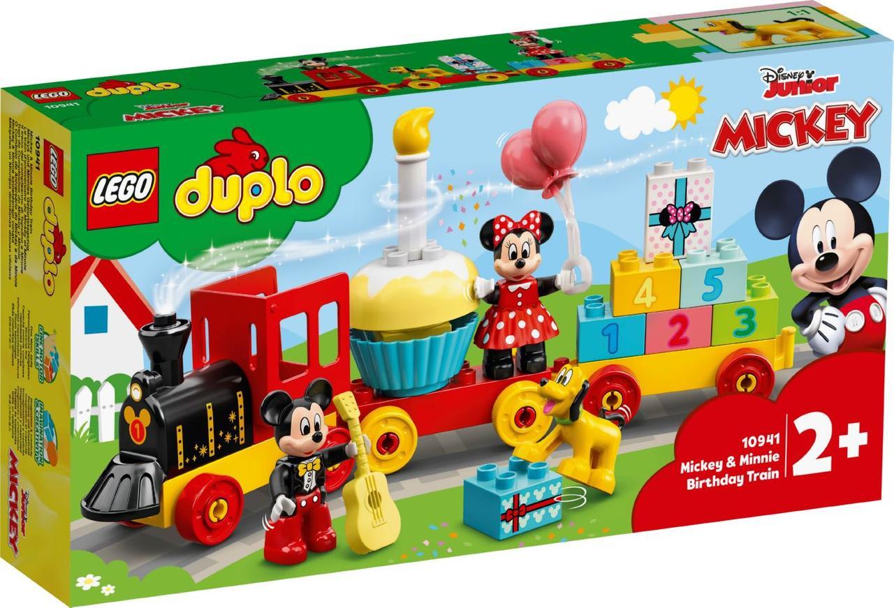 Lego Duplo Святковий поїзд Міккі і Мінні Лего Дупло 10941