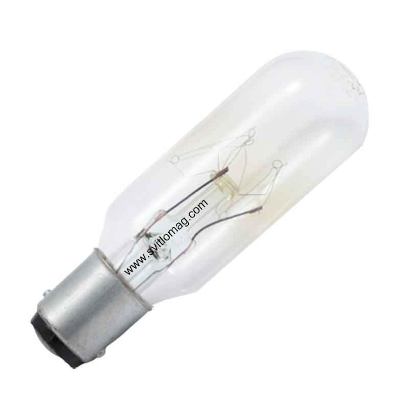 Лампа цилиндрическая Ц 220-25 B15d/18