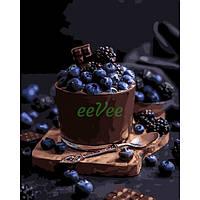 Набор для рисования Идейка Картина по номерам ИKHO5574 Соблазнительный десерт 40х50 см
