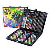 Набор для рисования и творчества в кейсе Art Set, 150 предметов, фото 6