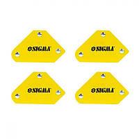 Набор магнитных угольников для сварки Sigma, 4шт. (4270251)