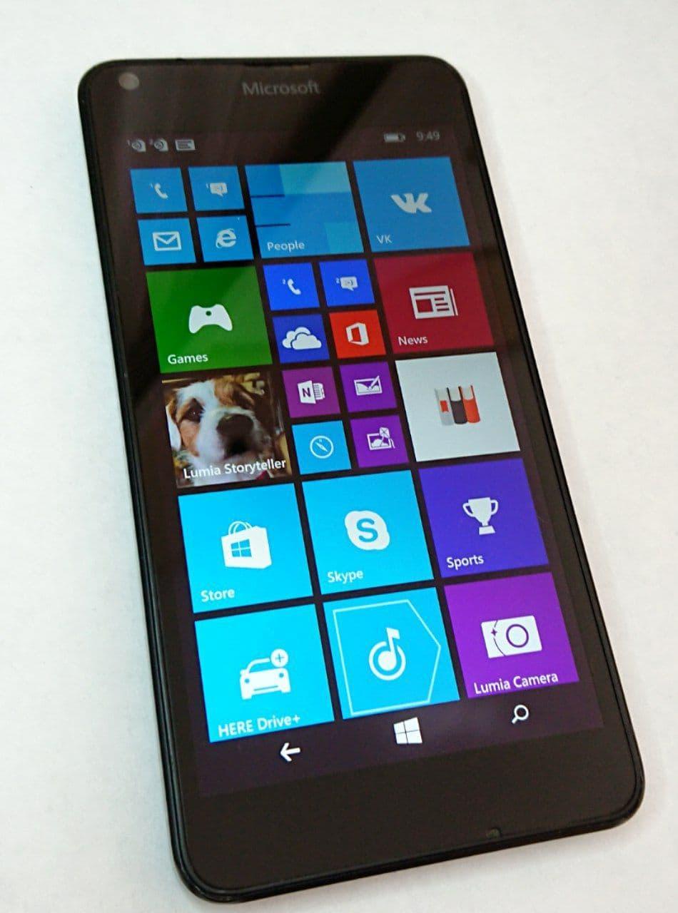 Смартфон Microsoft Lumia 640 DUAL SIM (RM-1077) Black б.у