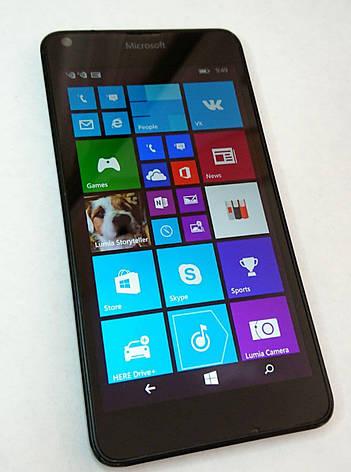 Смартфон Microsoft Lumia 640 DUAL SIM (RM-1077) Black б.у, фото 2