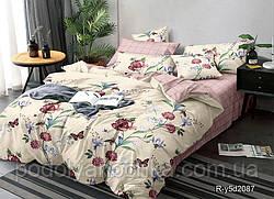 Двоспальний комплект з Ранфорса Персикова ніжність