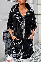 Женская куртка ветровка оверсайз из плащевки Монклер