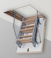 Металлическая Чердачная Лестница Altavilla Termo 4s (буковая) 80x80