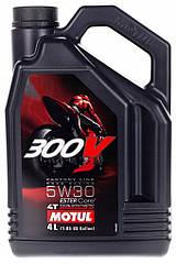 Моторне маслоMOTUL 300V ESTER CORE 5W30 100% synthetic (4L)