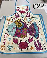 """Кухонний фартух з прогумованої непромокаючої основою """"N22"""" Туреччина"""