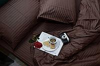 """Постільна білизна """"Еліт"""" двоспальне євро 200х220 кольоровий страйп-сатин люкс (11951), фото 1"""