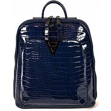 Рюкзак №8701 Синій лак