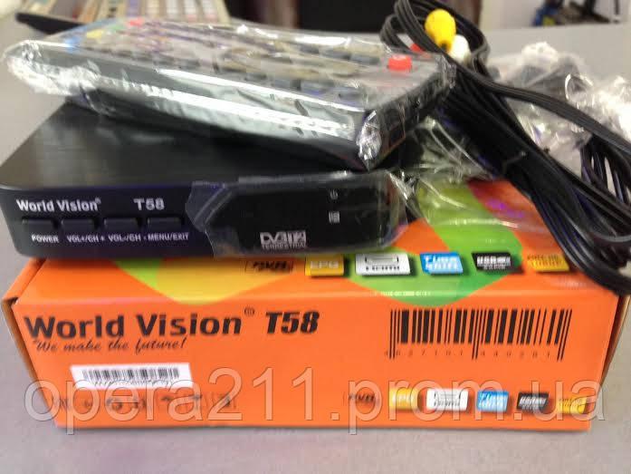 Тюнер (ресивер, приставка) Т2 World Vision T58
