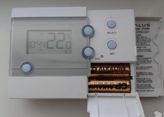Кімнатний терморегулятор