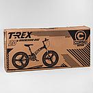 Детский велосипед спортивный для девочки 7-12 лет двухколесный CORSO T-REX 20'' Черно-розовый, фото 10