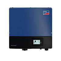 Солнечный сетевой инвертор SMA STP 20000TL-30 INT BLUE c экраном (20 кВт, 3 фазы, 2 MPPT)