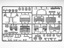 КАМАЗ 4310. Сборная модель советского военного грузового автомобиля в масштабе 1/35. ICM 35001, фото 2