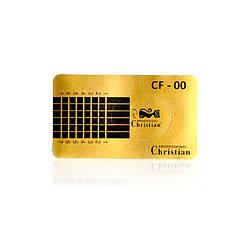 CF-00 Одноразова форма для нігтів (квадратна) (уп-5 рулонів), 500шт в рулоні