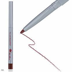 Карандаш механический для глаз и губ APN-100 № 8 Dark Brown