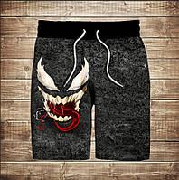 Шорти з 3D принтом на тему: Venom Smile