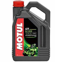 Моторне масло MOTUL 5100 4T SAE 10W30 (4L)