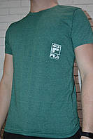 Зеленая футболка FILA пр-ва Турция (р-р L.XL.XXL.XXXL) БЕСПЛАТНАЯ ДОСТАВКА при заказе 3 шт !!!