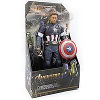 Фигурка супер героя Капитан Америка (32см) (Марвел / Avengers) с подвижными конечностями