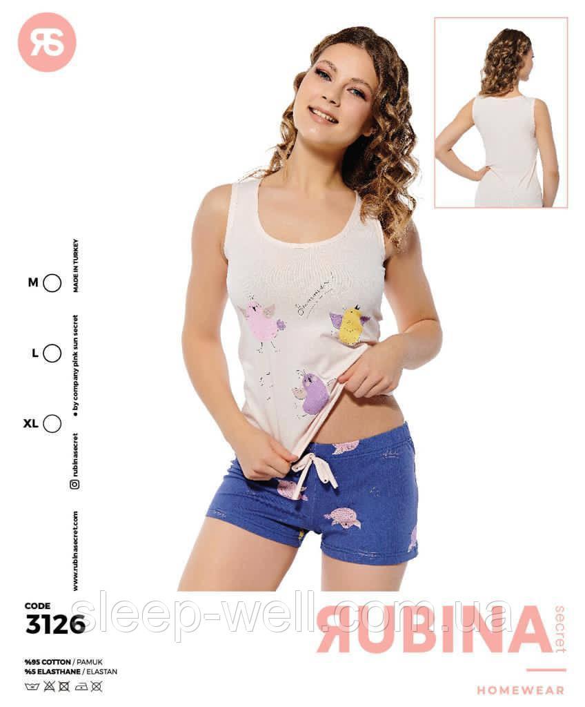 Піжама з шортами,Rubina