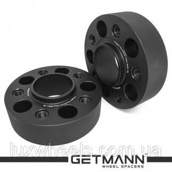 Колёсная проставка-адаптер GETMANN 45мм PCD 5x120 DIA 72.6 с футорками 14x1.25 для BMW (Кованая)
