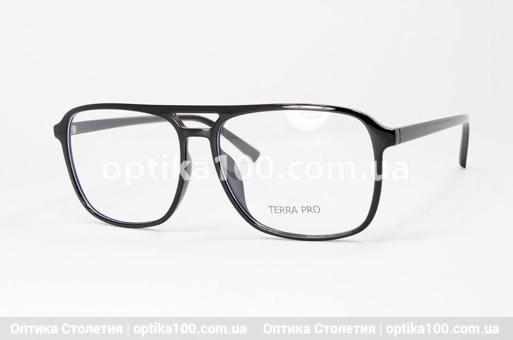 Оправа для окулярів ВЕЛИКА. Пластикова чоловіча